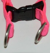 Valhoma 735 HP 3/4 inch Quick Fit Adjustable Dog Harness Hot Pink Medium Nylon image 2