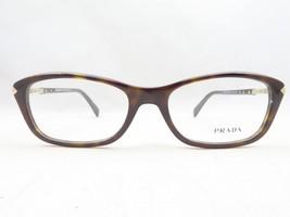 Prada VPR 04P 2AU-1O1 Dark Havana New Authentic Eyeglasses 52mm - 175 - $83.19