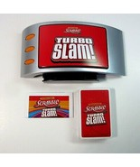 2011 Hasbro Electronic Scrabble Turbo Slam Game with Sound Effects - $6.99