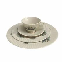 Lenox Fine China Rutledge Raised Enamel 4 Piece Place Setting Ivory Made... - $37.01