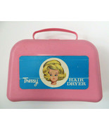 Vintage American Character Tressy Doll Hair Dryer by Hasbro 1960s Rare Pink Case - $18.00