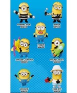 2017 McDonald's Happy Meal Toy - Despicable Me 3 -  #2 ROCKET RACER MINION  - $6.89
