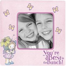 PRECIOUS MOMENTS BUTTERFLY PHOTO FRAME - $8.50