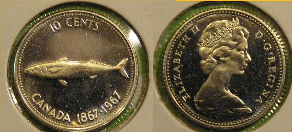 2020 CANADA 10 CENTS PROOF-LIKE DIME COIN