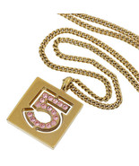 Chanel N°5 Strass Motif Collier - $356.60