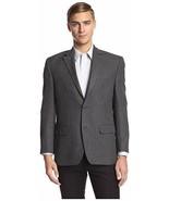 Andrew Fezza Suit Jacket Sz 44 Long Black Grey Two Button Sports Coat Bl... - $79.17