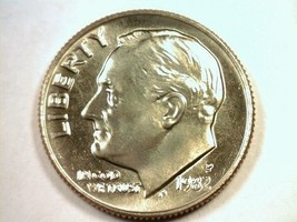 1982 Roosevelt Dime Superb Uncirculated Superb Unc. Nice Original Coin Bobs Coin - $48.00