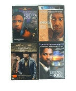 Lot of 4 DVD Denzel Washington John Q Training Day License to Kill - $14.93