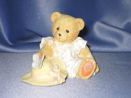 "Cherished Teddies Courtney ""Springtime Is A Blessing From Above"" Figurine. - $9.00"