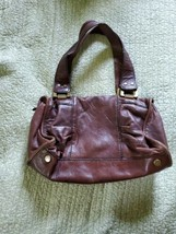 Fifty-Four Fossil Brown Leather  Tote Handbag - $29.69