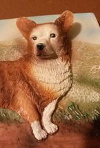 CORGI Dog Ceramic Plaque Painting Wall Art Pet Decor NEW image 2