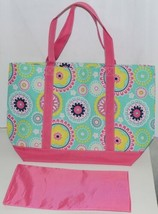WB M730PIPER Piper Polyester Tote Bag Colors Pink Navy Mint Green Yellow White image 2