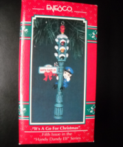 Enesco Christmas Ornament 1992 It's A Go For Christmas Handy Dandy Elf S... - $14.99