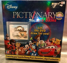 Disney Pictionary DVD Game Family Drawing Game K8841 - No Score Pad incl... - $17.94