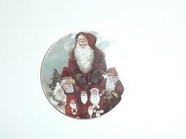 "Santas &  Santa Claus MOP Button on Mother of Pearl Shank Button 1-3/8"" - $11.87"