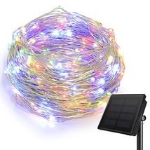 HEEPOW Outdoor String Lights, 200 LED Solar Fairy Lights 72ft Flexible C... - $20.04