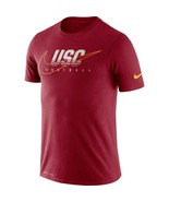 USC Trojans Mens Nike Dri-Fit Cotton Facility T-Shirt - Large - NWT - $24.11