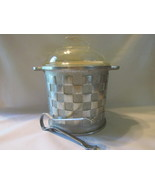 Vintage Guardian Ware Ice Bucket Complete with Glass Lid and Original Ice Tongs - £18.34 GBP