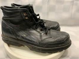 Puma Rudolf Dassler Schuhfabrik Noir Bottes Homme Taille 9.5 (US) - $46.56