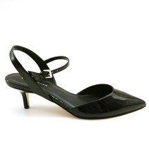 Marc Fisher Womans Caly2 High Heel Sling Back Sandal Black Patent  Sz 9 M NEW - $49.49