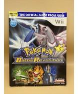 Pokemon Battle Revolution Nintendo Official Strategy Guide Book Wii - $12.38