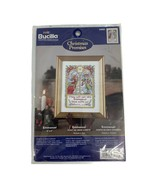 New Bucilla Emmanual Christmas Promises Cross Stitch Kit 84883 Angels - $4.94