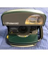 Vintage POLAROID One Step Express 600 Instant Film Camera w/ Flash ~ Green - $16.03