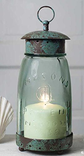 Vintage Style Decorative Jar Candle Lantern