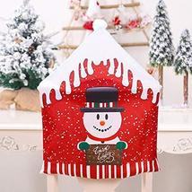 Christmas Decoration #B 2PCS Chair Covers Dining Room Chair Protector Sl... - $22.77