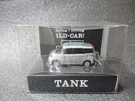 TOYOTA TANK LED Light Keychain Silver Metallic Pull Back Not Sold in stores - $23.71
