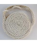 "Antique Vintage Hand Made Child Girl's Beaded Handbag Purse 5"" - $23.66"