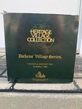 Department 56 Heritage Village Dickens Village Crown & Cricket Inn New - $39.59