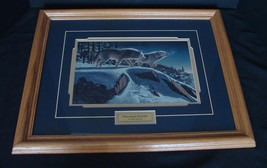 Kim Norlein Midnight Prowlers (Wolves) Framed  image 1