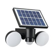 Link2Home EM-SL245B LED 600 Lumen Solar Security Waterproof, 6500K, Adju... - $52.16