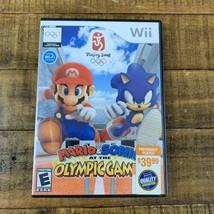 Mario & Sonic Olympic Games Beijing 2008 Wii Nintendo SEGA Missing Booklet  - $12.86