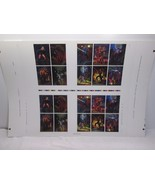 Star Wars Shadow of the Empire Chase Cards/Gold Quilt Uncut Card Sheet -... - $48.37