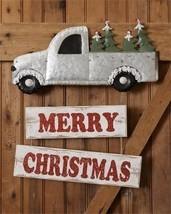 Merry Christmas Truck Wall or Door Hanging Decor - $26.99