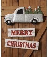 Merry Christmas Truck Wall or Door Hanging Decor - $20.00