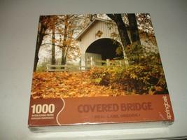 Springbok Covered Bridge Neal Lane, OR 1000 Piece Jigsaw Puzzle, Brand New - $24.74