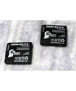 Lot of 2 Panasonic Lumix Batteries DMW-BCJ13 Used Good Condition Free Sh... - $16.95