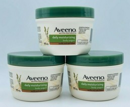3 x Aveeno Active Naturals VANILLA & OATS Body Yogurt Daily Moisturizer ... - $47.99