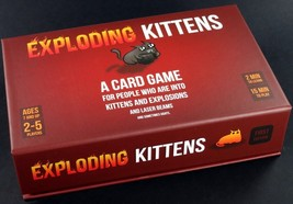 Exploding Kittens: A Card Game About Kittens and Explosions and Sometime... - $19.79