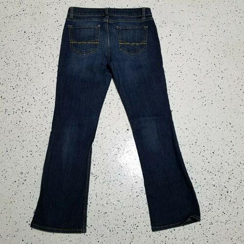 Women's Tommy Hilfiger Denim Blue Jeans ~ Sz 6 Short ~ Boot Cut ~ Cotton Blend
