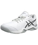 ASICS Women's Gel-Encourage Le Tennis Shoe,White/Silver,10.5 M US - $99.99