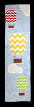 "Row by Row 2017 ""On the Go"" Hot Air Balloons Sky Air Quilting Pattern M4... - $3.50"