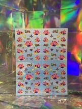 SALE⚡️S723  Lisa Frank Pig Lazy River Peekaboo Complete Sticker Sheet Mini