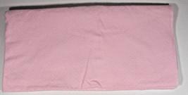 Circo Pink Polka Dot Receiving Blanket 29x28 Security Lovey Baby White 2013 - $191,98 MXN