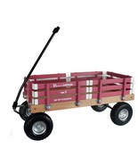 HEAVY DUTY LOADMASTER HOT PINK WAGON - Beach Garden Utility Cart AMISH U... - $330.18