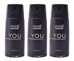 Axe Deodorant Body Spray You Mens Fragrance 150ml/5.07oz 3-Pack