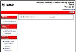 Bobcat advanced troubleshooting system thumb200